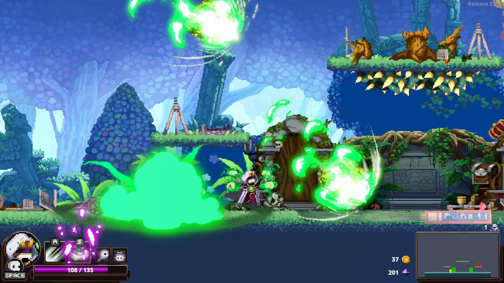 [百度云网盘]PC《小骨:英雄杀手(Skul: The Hero Slayer)》中文动作冒险类(ACT)游戏下载