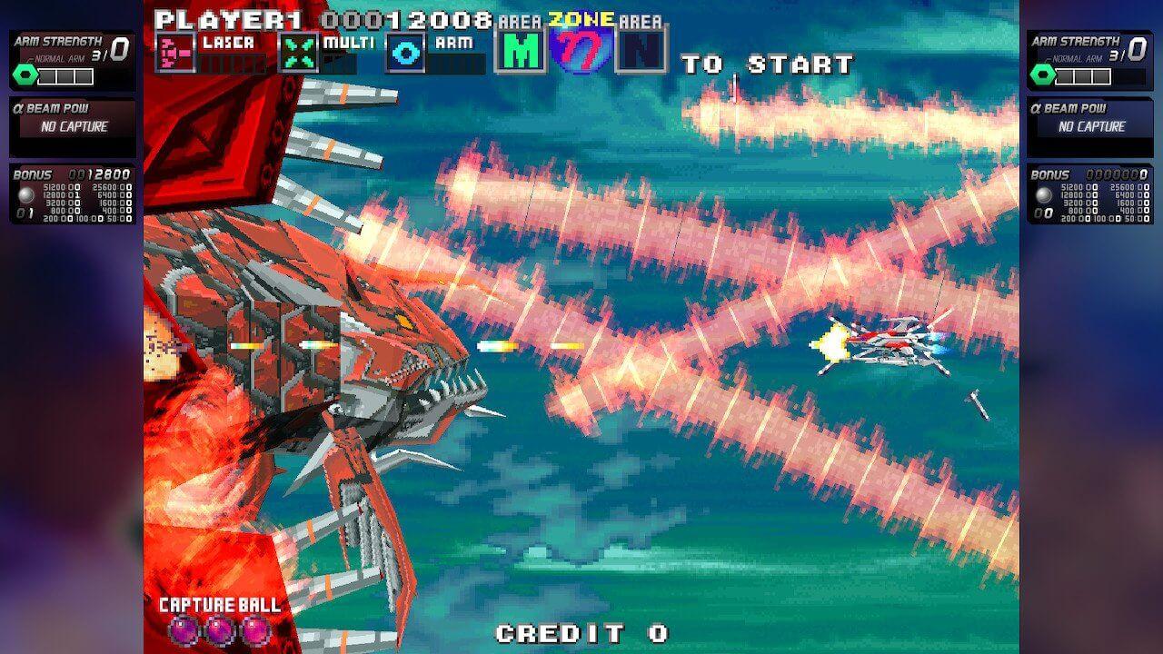 Switch《太空战斗机G高清版 G-Darius HD》英文版NSP下载+v1.1.0升级包
