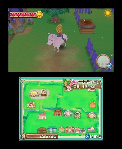 3DS《牧场物语:起源的大地 Harvest Moon 3D: A New Beginning》汉化版CIA下载