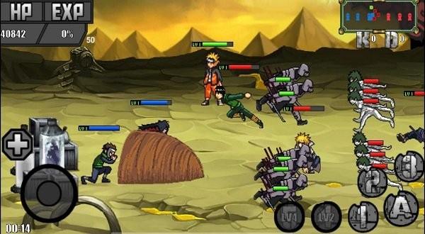 【安卓手机游戏】火影战记之传奇战争最新版 v1.17下载