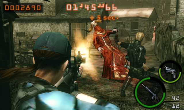 3ds游戏《生化危机:雇佣军 BioHazard: The Mercenaries》日版日文CIA下载